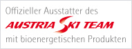 Offizieller Ausstatter des Austria Ski Team mit bioenergetischen Produkten